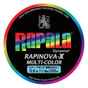 Rapala(ラパラ)ラピノヴァ・エックス マルチカラー 200m