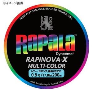 Rapala(ラパラ) ラピノヴァ・エックス マルチカラー 200m 3号/39.6lb マルチ RXC200M30MC