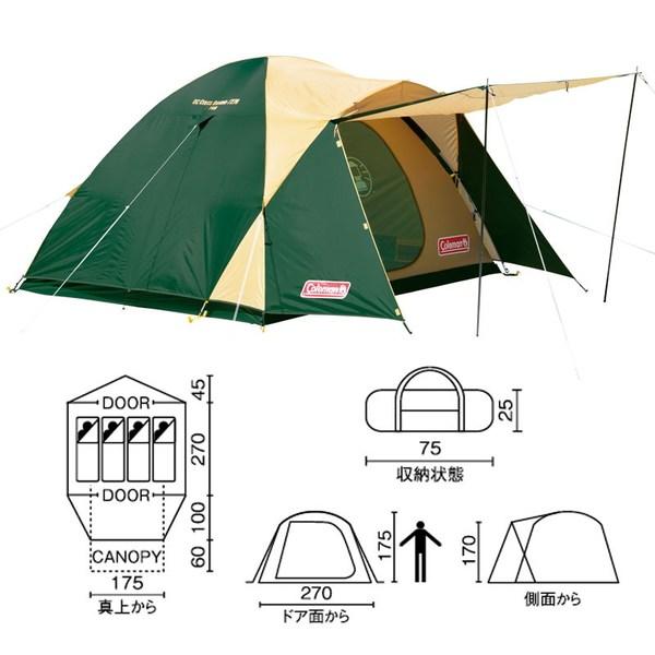 Coleman(コールマン) BCクロスドーム/270 2000038429 ファミリードームテント