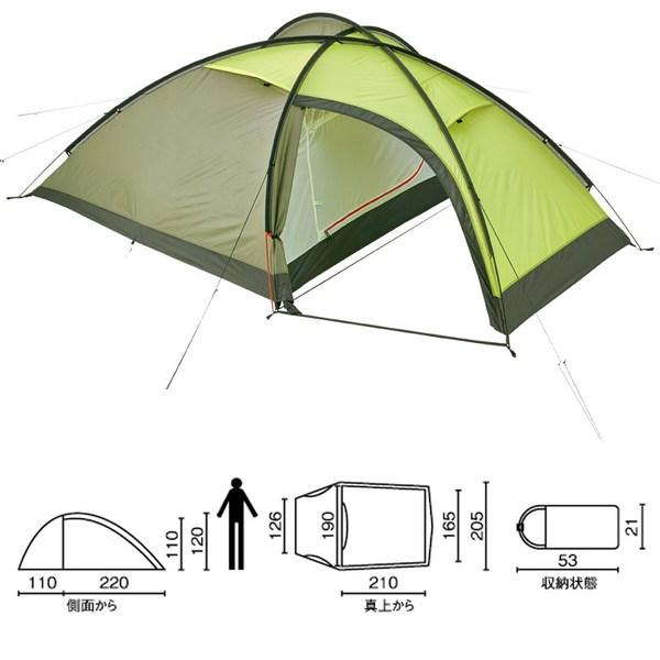Coleman(コールマン) タトラ 3 2000017194 ファミリードームテント