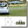 ロゴス(LOGOS) neos パネルLINKタープ for small car & Qセットタープ(165×250cm)