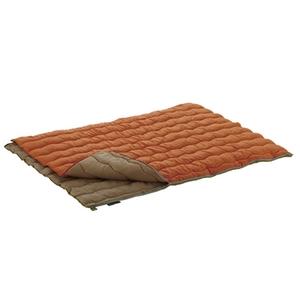 ロゴス(LOGOS) 2in1・Wサイズ丸洗い寝袋・2 72600680 スリーシーズン用