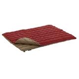 ロゴス(LOGOS) 2in1・Wサイズ丸洗い寝袋・0 72600690 スリーシーズン用