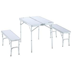 ロゴス(LOGOS)ベンチテーブルセット4−N