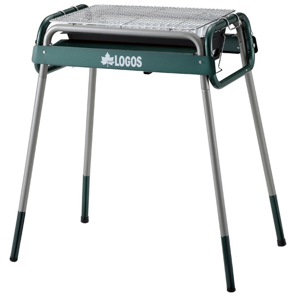 ロゴス(LOGOS) お掃除らくちんチューブラルM 81060700 BBQコンロ(脚付き)