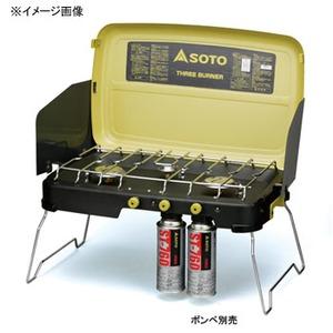SOTO 3バーナー ST-532 ガス式