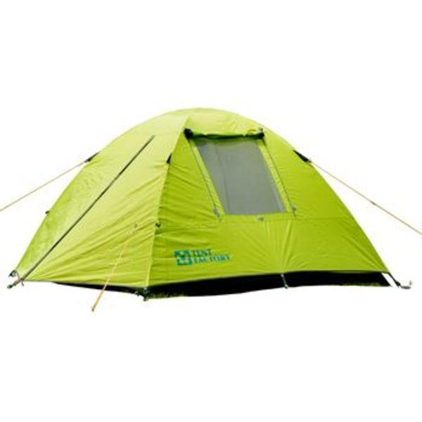 TENT FACTORY(テントファクトリー) グリーンサイドドームテント 3L (3人用) TF-GS3L ファミリードームテント