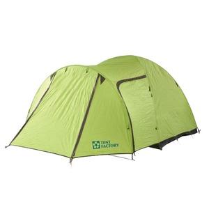 TENT FACTORY(テントファクトリー) グリーンサイドドームテント EX4 (3~4人用) TF-GSEX4 ツールームテント