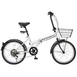 Raychell(レイチェル) R-241N 17074 20インチ変速付き折りたたみ自転車