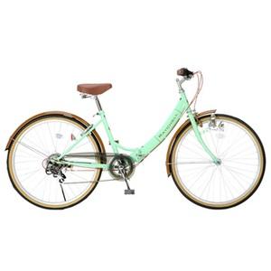 Raychell(レイチェル) R-321N 17076 26インチ変速付き折りたたみ自転車