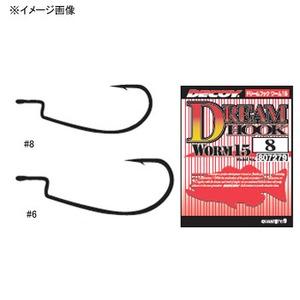 カツイチ(KATSUICHI) WORM 15 ドリームフック #8