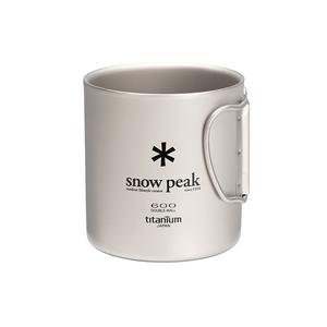スノーピーク(snow peak)チタンダブルマグ 600