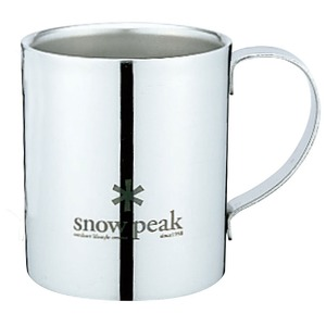 スノーピーク(snow peak) スノーピークロゴダブルマグ 240 MG-112R