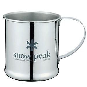 スノーピーク(snow peak) ステンレスマグカップ E-010R ステンレス製マグカップ