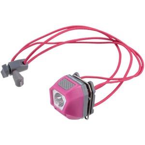 キャプテンスタッグ(CAPTAIN STAG) ミニデコ LEDヘッド&クリップライト ピンク UK-3011