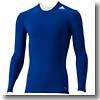 adidas(アディダス) AJP-AJ451 TF BASE ロングスリーブシャツ Men's J/L (D82062)カレッジロイヤル×カレッジロイヤル