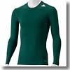 adidas(アディダス) AJP-AJ451 TF BASE ロングスリーブシャツ Men's J/S (D82066)フォレスト×フォレスト