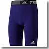 adidas(アディダス) AJP-AJ452 TEAM TF BASE ショートタイツ Men's J/L (D82110)カレッジパープル×カレッジパープル