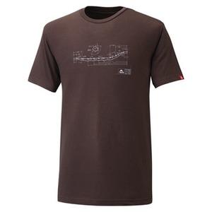 MSR ライトニングスノーシュー Tシャツ S エスプレッソ 51031