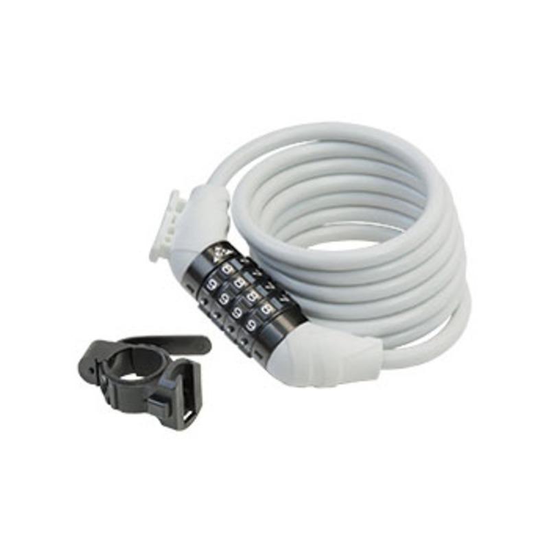 GIZA PRODUCTS(ギザプロダクツ) WL-654 Combination Lock コンビネーション ロック 8×1800mm WHT(ホワイト) LKW23901