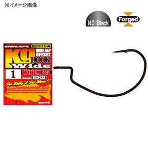 カツイチ(KATSUICHI) キロフックワイド ワーム 25 ワームフック(オフセット)