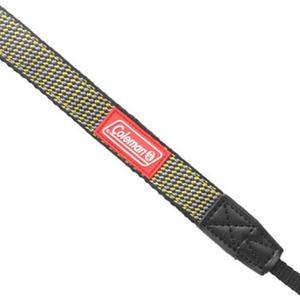 エツミ コールマン ネックストラップ20 イエローxグレー CO-8504