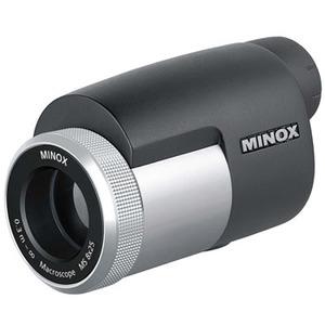 【送料無料】MINOX(ミノックス) マクロスコープMS 8×25 ブラック×シルバー