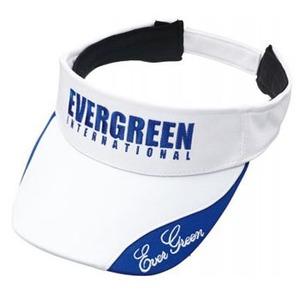 エバーグリーン(EVERGREEN) E.G.ライトサンバイザー タイプ2 フリー ホワイト