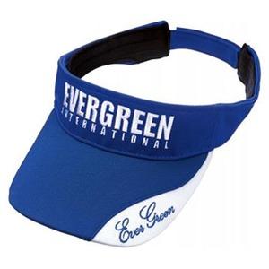 エバーグリーン(EVERGREEN) E.G.ライトサンバイザー タイプ2 フリー ブルー