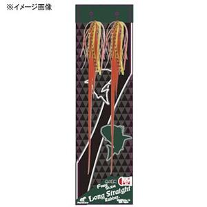 ハヤブサ(Hayabusa) 無双真鯛 フリースライド カスタムシリコンネクタイ ロングストレート ラバーセット SE143