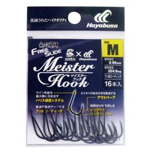 ハヤブサ(Hayabusa) 無双真鯛 フリースライド Meister Hook B129L1