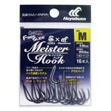 ハヤブサ(Hayabusa) 無双真鯛 フリースライド Meister Hook B129L1 ジグ用アシストフック