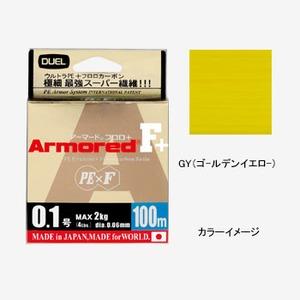 デュエル(DUEL) ARMORED F+ 100M H4012-GY