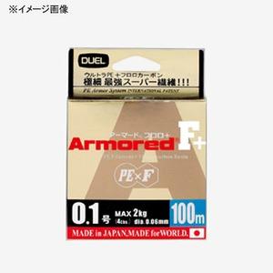 デュエル(DUEL) ARMORED F+ 100M 0.4号/7lb GY(ゴールデンイエロー) H4002-GY