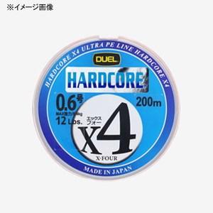 デュエル(DUEL) HARDCORE X4(ハードコア エックスフォー) 200m 0.5号/9lb 10mx5色 H3279