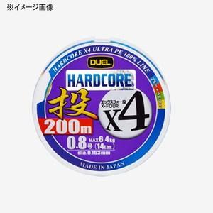 デュエル(DUEL) HARDCORE X4 投げ 200m 1.2号 25m×4色 H3290