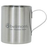 ベルモント(Belmont) チタンダブルマグ220 logo BM-309 チタン製マグカップ