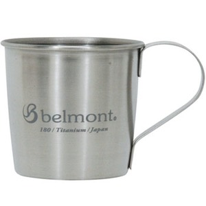 ベルモント(Belmont) チタンシングルマグ180 logo BM-303 チタン製マグカップ