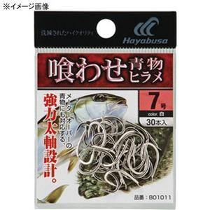 ハヤブサ(Hayabusa) 小袋バラ鈎 喰わせ青物・ヒラメ 10号 白 B01011