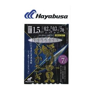 ハヤブサ(Hayabusa) 湖翔ワカサギ 瞬貫わかさぎ 細地袖型 7本鈎 鈎1.5ハリス0.2 C217