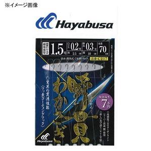 ハヤブサ(Hayabusa) 湖翔ワカサギ 瞬貫わかさぎ 細地袖型 7本鈎 鈎2/ハリス0.2 C217