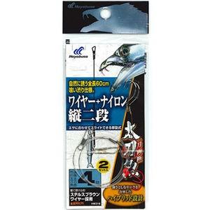 ハヤブサ(Hayabusa)一刀両断 太刀魚 ワイヤー+ナイロン縦二段