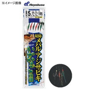 ハヤブサ(Hayabusa) 堤防メバル・アジサビキ いかなご仕様 針3/ハリス0.6 金 HS480