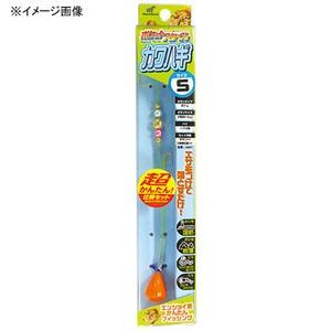 アウトドア&フィッシング ナチュラムハヤブサ(Hayabusa) ポケットスタイル カワハギセット M 金 HA507