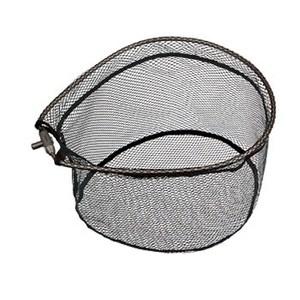 アルミフレーム(ワンピース)ラバーコーティングネット付 40×55cm ガンメタ
