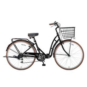 【送料無料】キャプテンスタッグ(CAPTAIN STAG) バレイFDB266 折りたたみ自転車 26インチ ブラック YG-216
