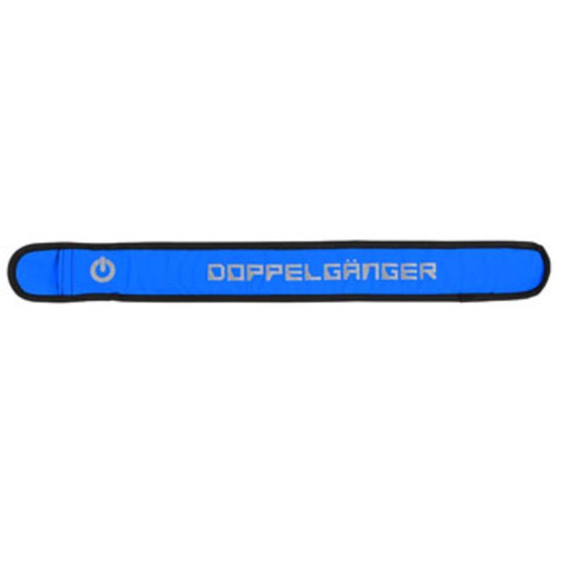 ドッペルギャンガー(DOPPELGANGER) クイックフィットLEDアームバンド L ブルー DRF153L-BL