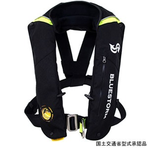 Takashina(高階救命器具) セーリング用 膨脹式救命胴衣 フリー ブラック BSJ-3500