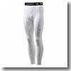 adidas(アディダス) AJP-AJ453 TEAM TF BASE ロングタイツ J/O (D82126)ホワイト×ホワイト