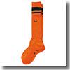 NIKE(ナイキ) NJP-SX1526 ナイキ ニューベーシックサッカーソックス 23-25cm (815)オレンジ×ブラック×(ブラック)